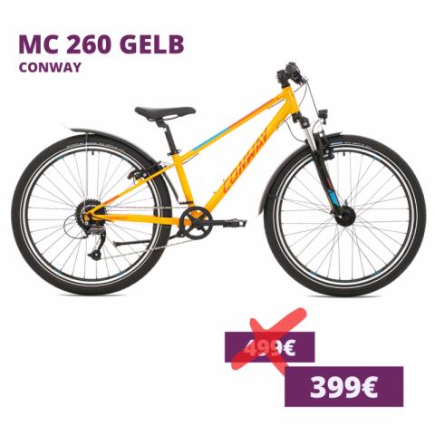 Conway MC 260 kids bike gelb