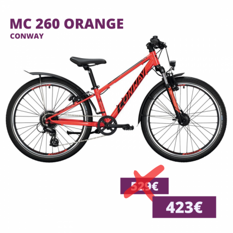 Conway MC 260 kids bike orange