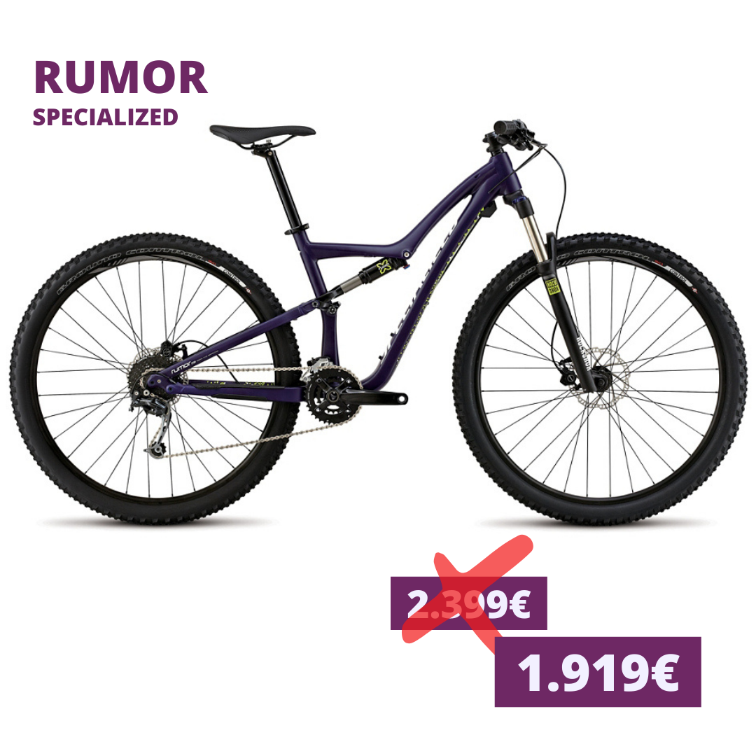 Copy of Specialized Rumor anthracite