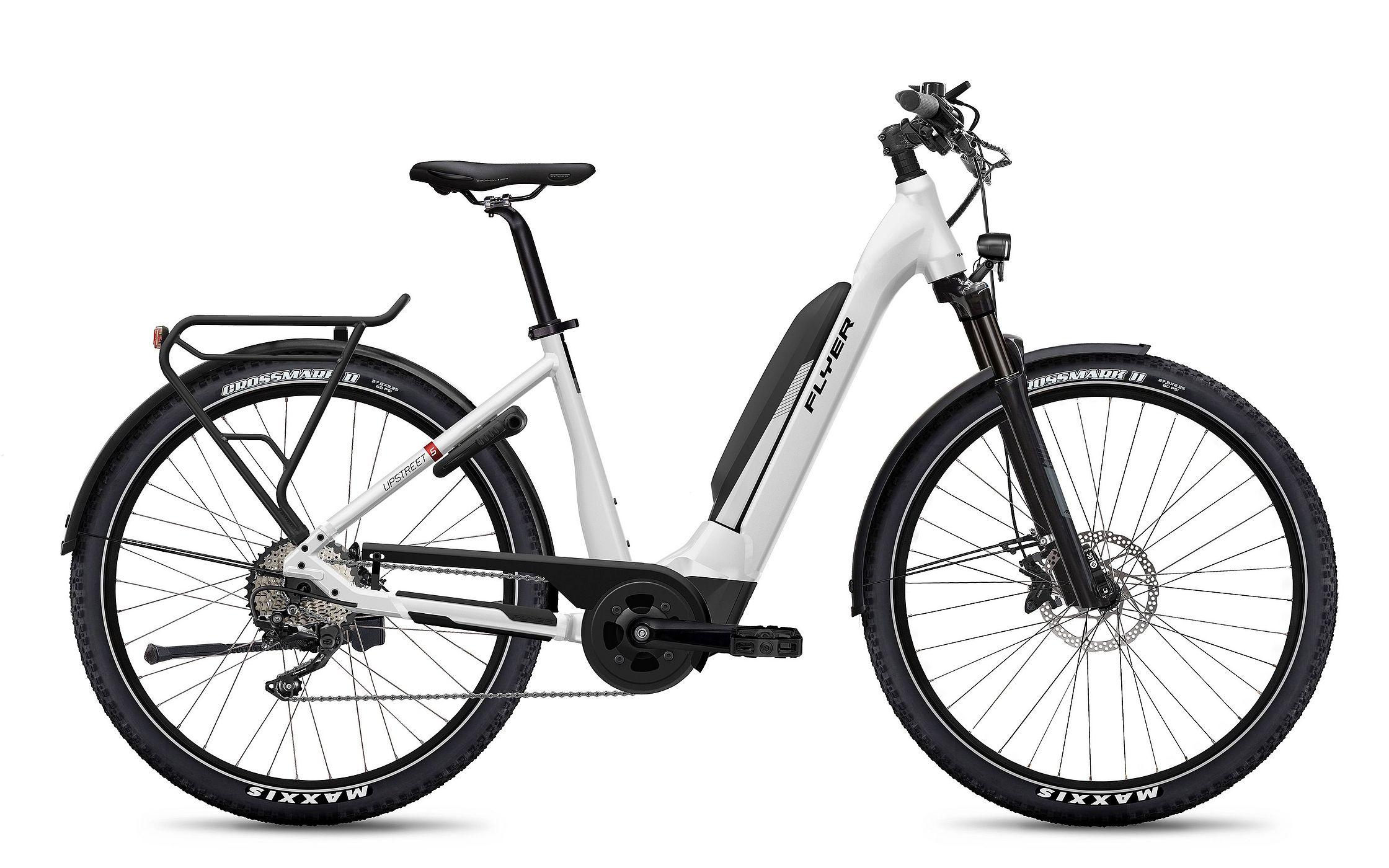 FLYER_E-Bikes_MY21_Upstreet5_712XC_Comfort_PearlWhiteGloss