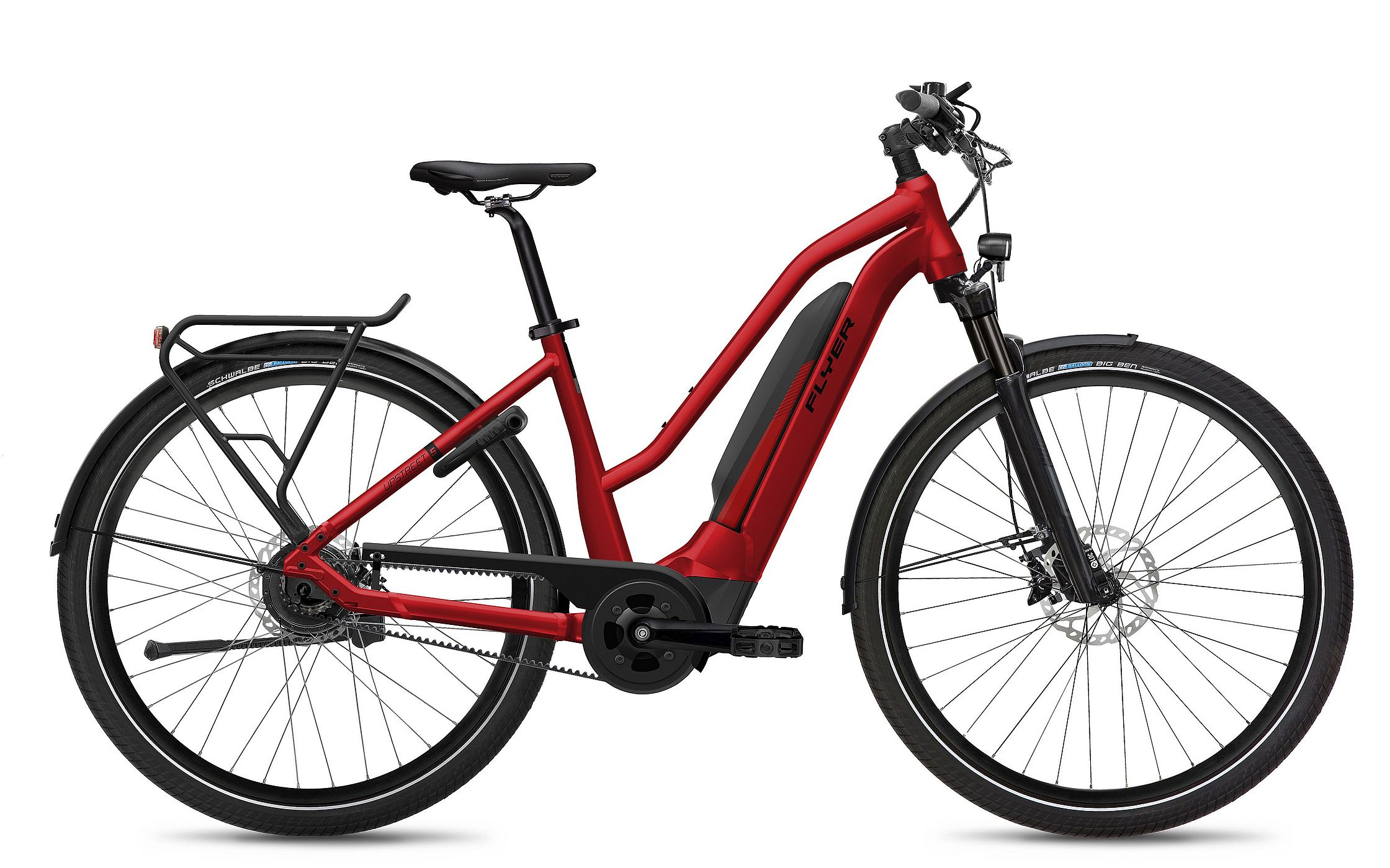 FLYER_E-Bikes_MY21_Upstreet5_743_Mixed_MercuryRedGloss