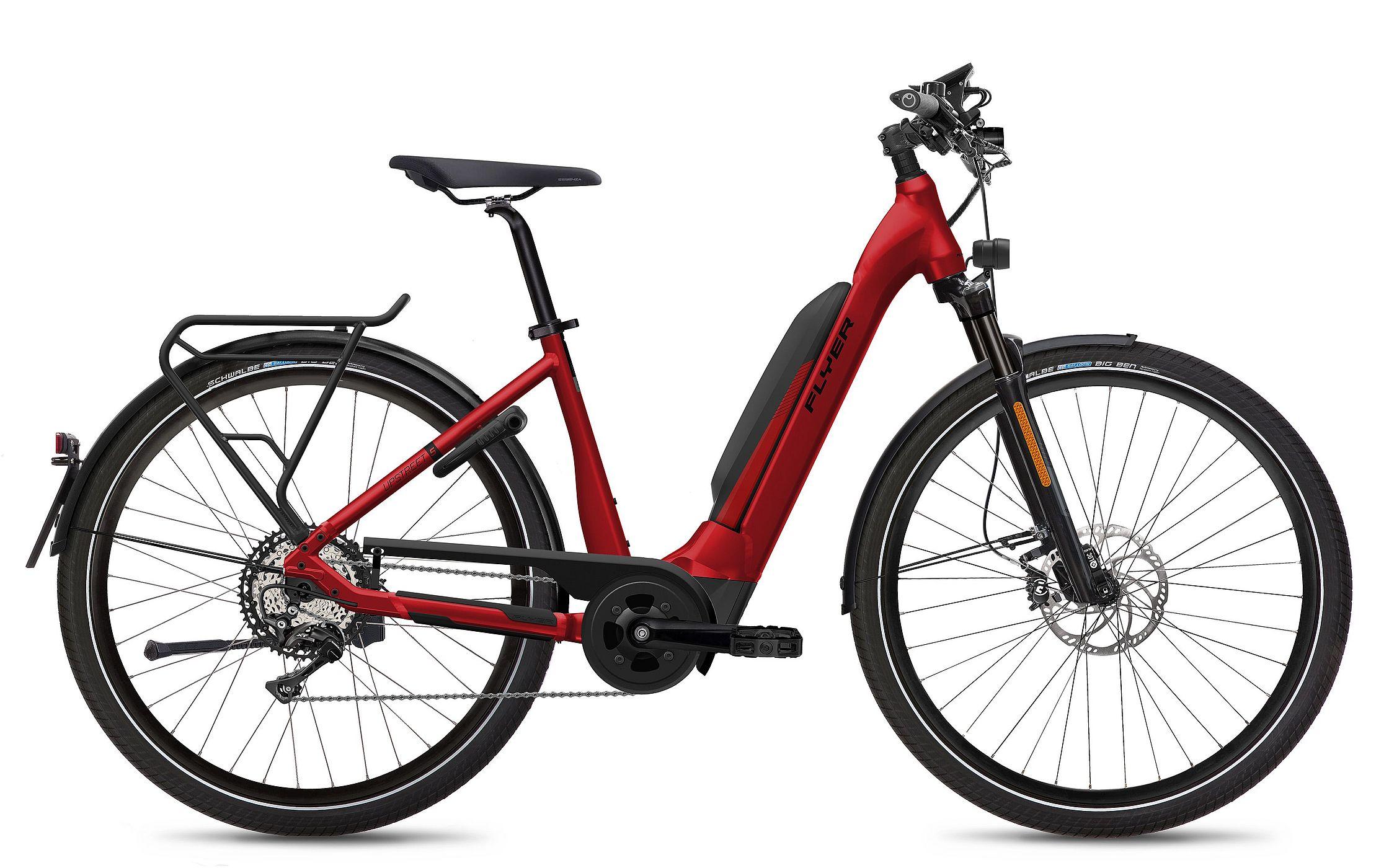 FLYER_E-Bikes_MY21_Upstreet5_770_Comfort_HS_EU_MercuryRedGloss