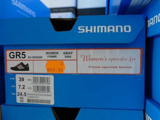 Shimano GR5 Bike Schuhe ewege Flohmarkt Sonderverkauf