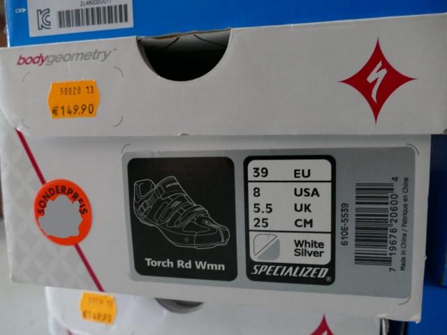 Specialized Torch Bike Schuhe ewege Flohmarkt Sonderverkauf