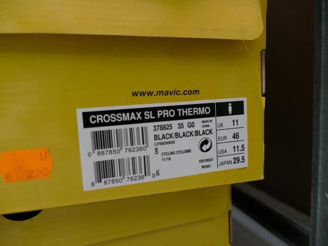 Mavic Crossmax SL Pro Bike Schuhe ewege Flohmarkt Sonderverkauf