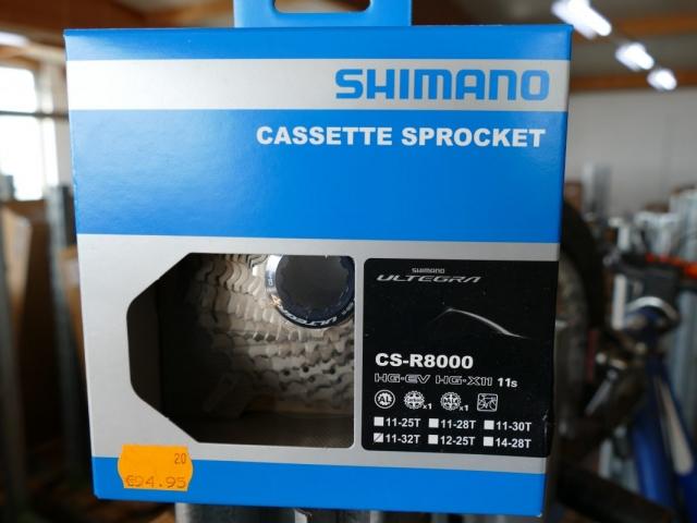 Shimano Bike Sprocket ewege Flohmarkt Sonderverkauf