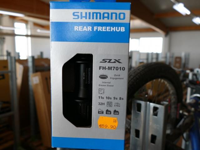 Shimano FH-M7010 Rear Freehub ewege Flohmarkt Sonderverkauf
