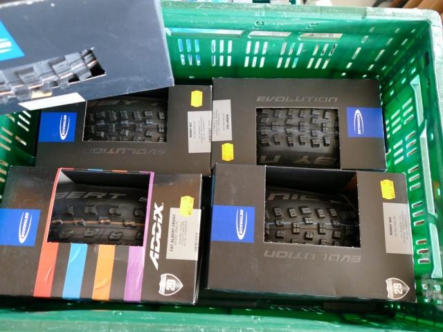 Schwalbe Reifen ewege Flohmarkt Sonderverkauf