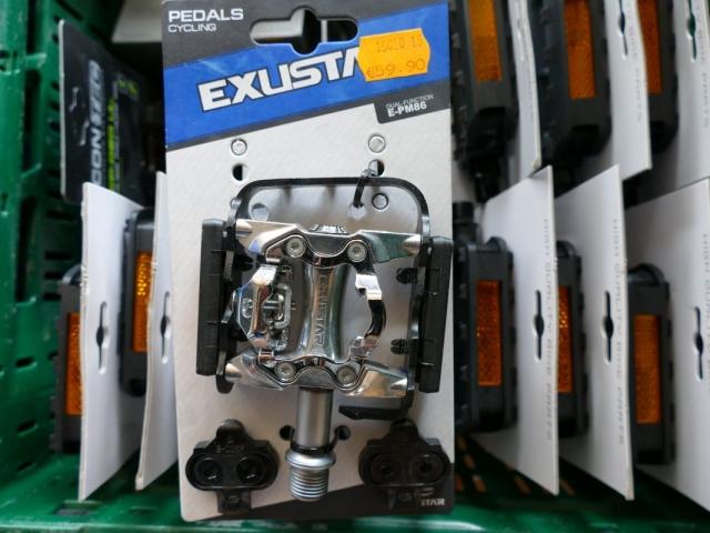 Exustar E-PM86 Pedale ewege Flohmarkt Sonderverkauf