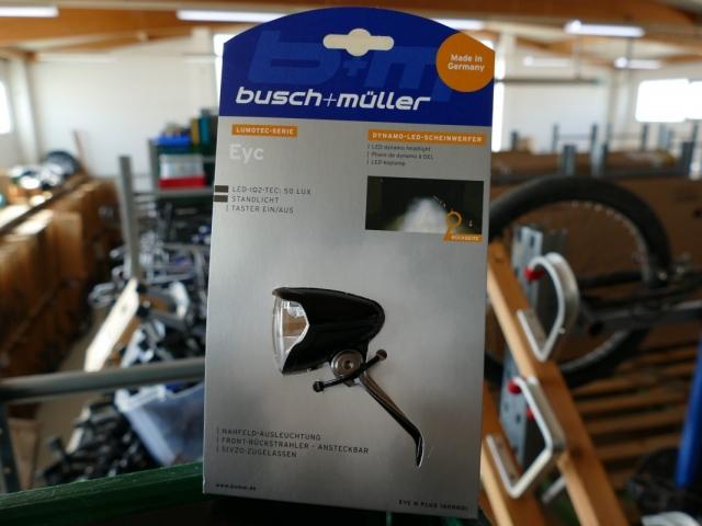 Busch & Müller Eyc LED Scheinwerfer ewege Flohmarkt Sonderverkauf