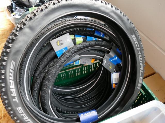 Schwalbe Smart Sam MTB Reifen ewege Flohmarkt und Sonderverkauf