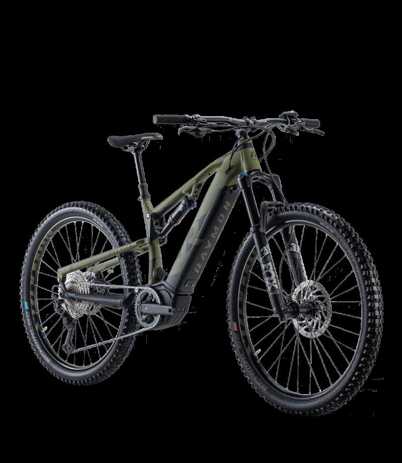 Raymon FullRay E-Nine 9.0 2021 grün