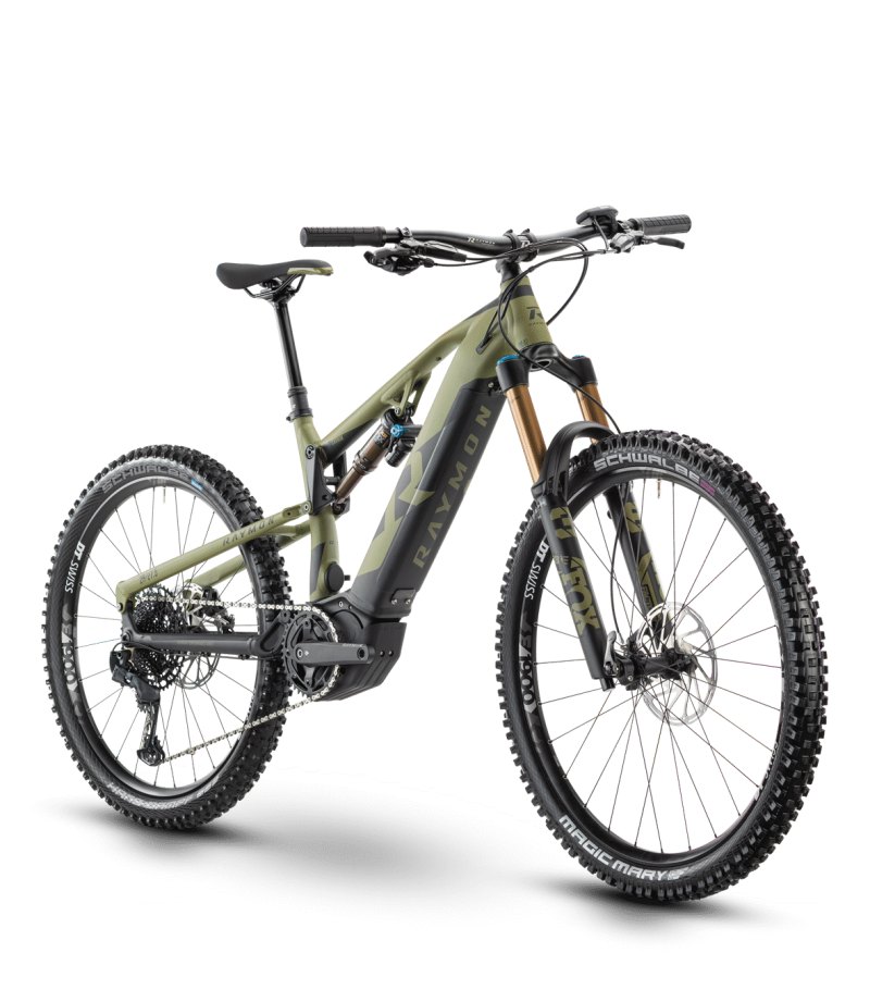 Raymon TrailRay E 11.0 2021 grün/schwarz
