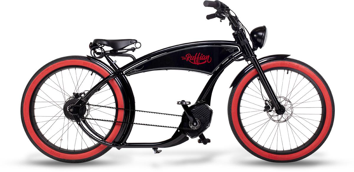 Ruff Cycles Ruffian schwarz rotwand WEB