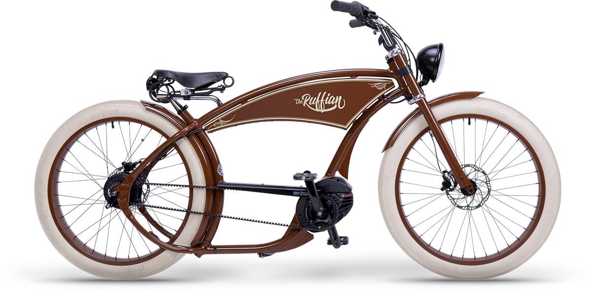 Ruff Cycles Ruffian vintage braun WEB