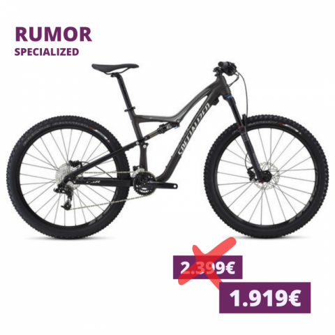 Specialized Rumor dunkelgrau