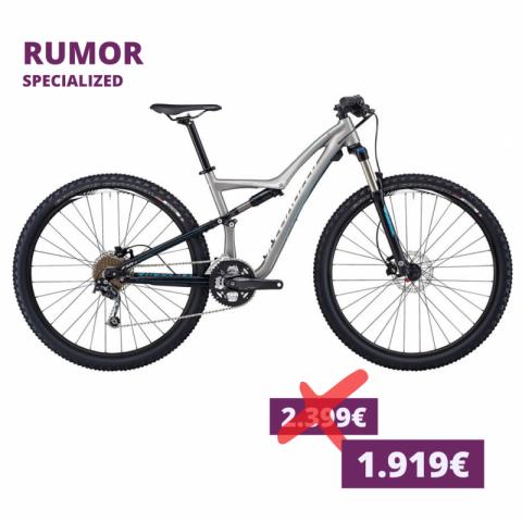 Specialized Rumor Damen MTB silver