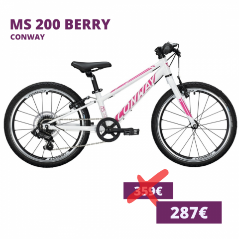 Conway MS 200 Kids Bike Berry