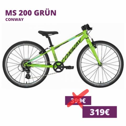 Conway MS 200 Kids bike grün