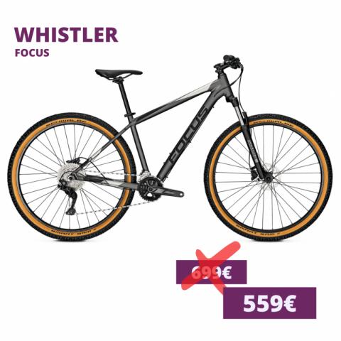 Focus Whistler hardtail MTB