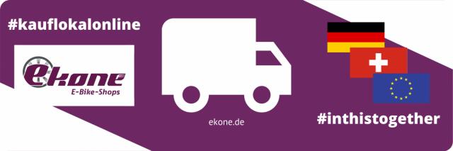 ekone E-Bike-Shops Lieferung