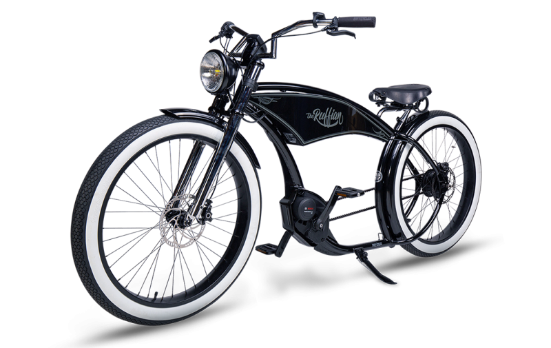 Ruff Cycles The Ruffian 2021 schwarz weißwand