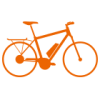 ekone E-Bike Leasing bike logo